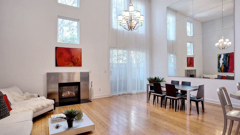 Multi-Level Architectural Modern Townhome in Brentwood
